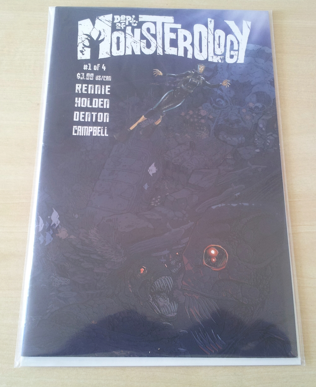 THE DEPT. OF MONSTEROLOGY #1 REVIEW